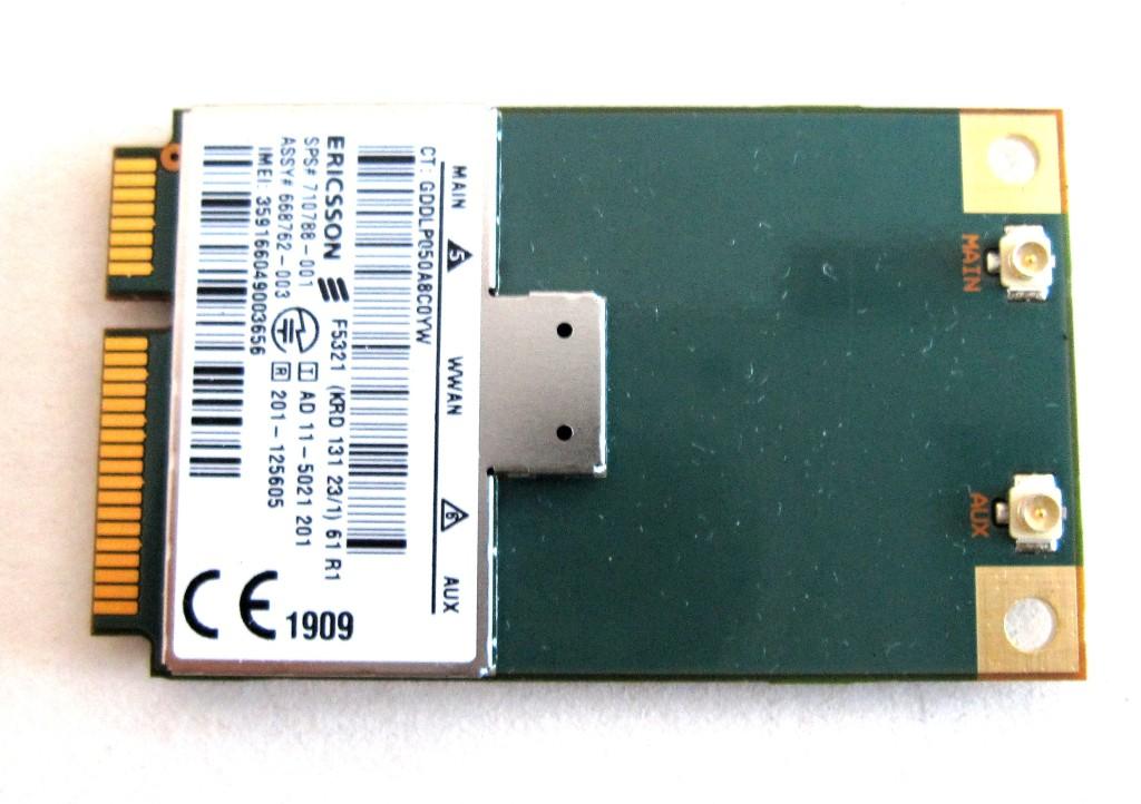 gprs gsm модуль для ноутбуков hp: